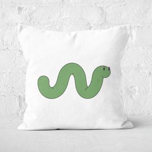 Worm Square Cushion
