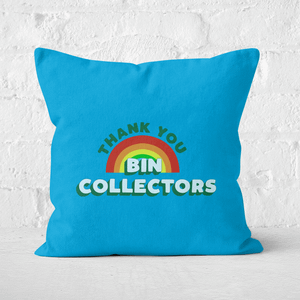 Thank You Bin Collectors Square Cushion