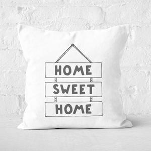Home Sweet Home Square Cushion