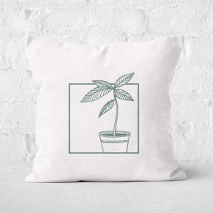 Plant Square Cushion