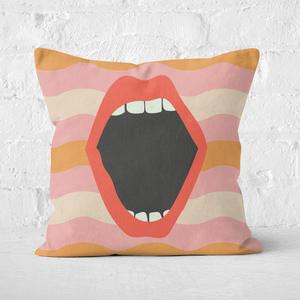 Scream Square Cushion