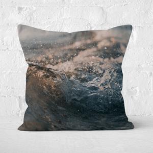 Wave Texture Square Cushion