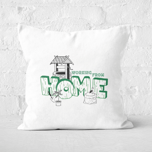 Gardening Working From Home Square Cushion