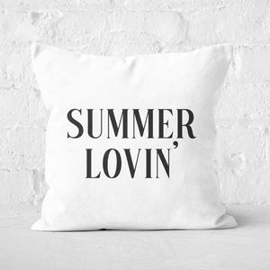 Summer Lovin' Square Cushion