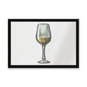 White Wine Entrance Mat
