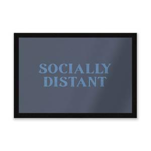 Socially Distant Entrance Mat