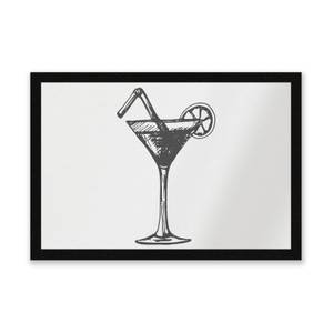 Beach Cocktail Entrance Mat