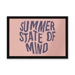 Summer State Of Mind Entrance Mat