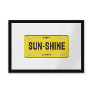 Sunshine State Of Mind Entrance Mat