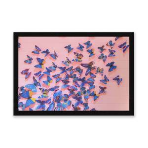 Girly Butterfly Crowd Entrance Mat