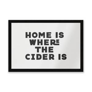Home Is Where The Cider Is Entrance Mat