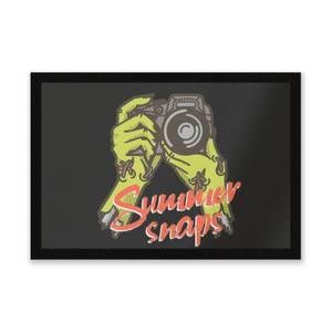 Summer Snaps Entrance Mat