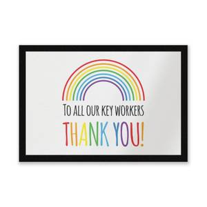 To All Our Key Workers Thank You! Entrance Mat