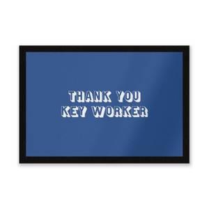 Thank You Key Worker Entrance Mat