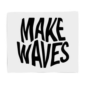 Make Waves Fleece Blanket