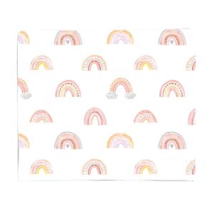 Rainbow Pattern Fleece Blanket