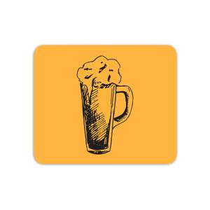 Beer Glass Mouse Mat