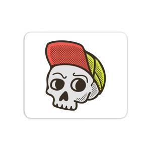 Baseball Cap Skull Mouse Mat
