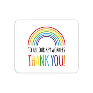 To All Our Key Workers Thank You! Mouse Mat