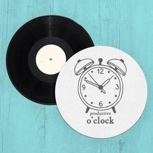 Productive O'Clock Slip Mat