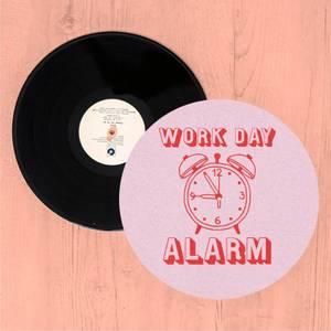Work Day Alarm Slip Mat