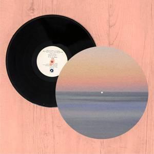 Sunset Orange Blue Slip Mat