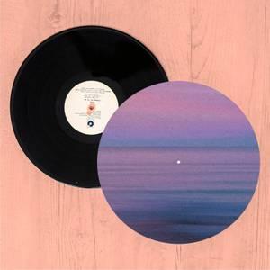 Sunset Purple Tones Slip Mat