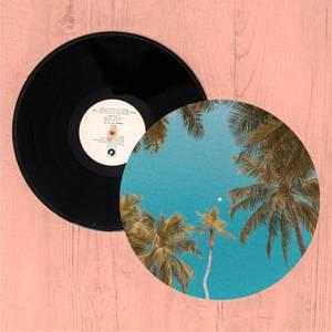 Palm Trees Slip Mat