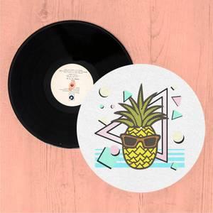 Summer Pineapple Slip Mat