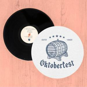 Oktoberfest Barrel Slip Mat