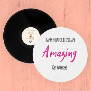 Thank You For Being An Amazing Key Worker! Slip Mat