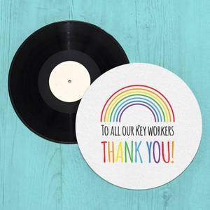 To All Our Key Workers Thank You! Slip Mat