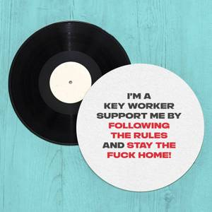 Stay The Fuck Home! Slip Mat