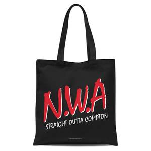 Tote Bag NWA Straight Outta Compton - Noir
