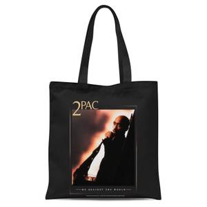 Tote Bag Tupac Me Against The World - Noir