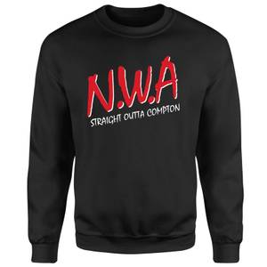 NWA Straight Outta Compton Sweatshirt - Black