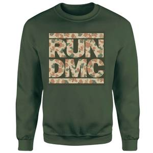 RUN DMC Camo Unisex Sweatshirt - Green