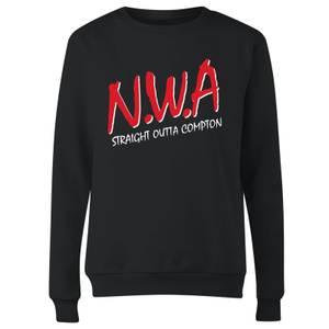 Sweat-shirt NWA Straight Outta Compton - Noir - Femme