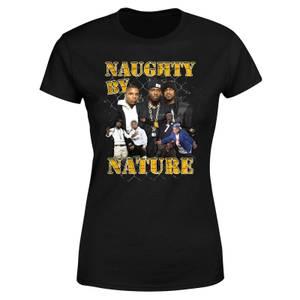 Naughty By Nature Women's T-Shirt - Black