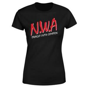 T-shirt N.W.A - Noir - Femme