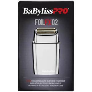 BaByliss PRO FoilFX02 Metal Double Foil Shaver