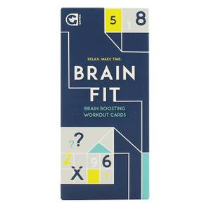 Brain Fit Card Game