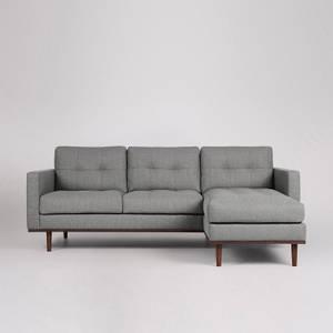 Swoon Berlin House Weave Corner Sofa - Right Hand Side