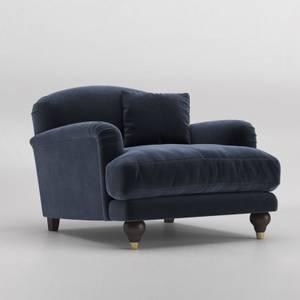 Swoon Holton Velvet Armchair