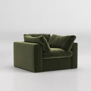 Swoon Seattle Velvet Armchair