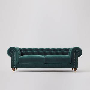 Swoon Winston Velvet 3 Seater Sofa