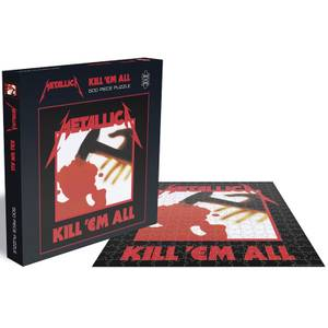 Metallica Kill 'Em All (500 Piece Jigsaw Puzzle)