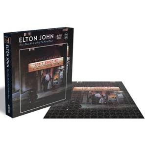 Elton John Don't Shoot Me I'm Only the Piano Player (500 Piece Jigsaw Puzzle)
