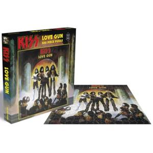 Kiss Love Gun (500 Piece Jigsaw Puzzle)