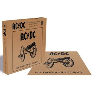 AC/DC For Those About to Rock (500 Piece Jigsaw Puzzle)